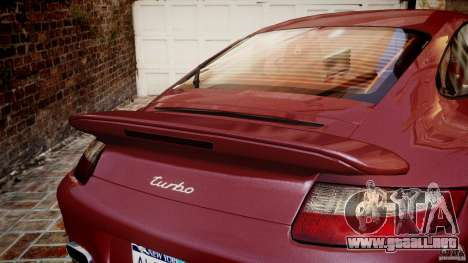 Porsche 911 (997) Turbo v1.1 [EPM] para GTA 4 vista interior
