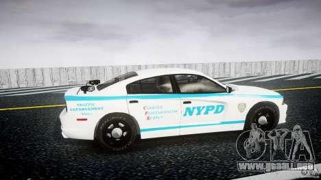 Dodge Charger NYPD 2012 [ELS] para GTA 4 vista interior