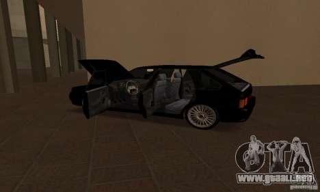 Ваз Dag 2114 estilo para la vista superior GTA San Andreas