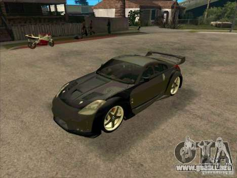 Nissan 350Z DK from FnF 3 para GTA San Andreas left