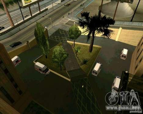 Priparkovanyj transporte v 3,0-Final para GTA San Andreas octavo de pantalla