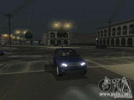 ENBSeries v 2.0 para GTA San Andreas octavo de pantalla