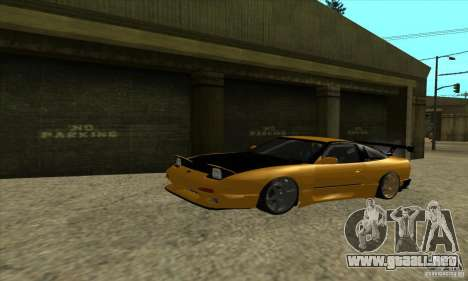 Nissan 240SX Drift Tuning para GTA San Andreas left