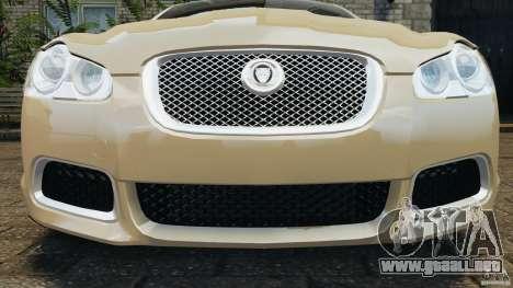 Jaguar XFR 2010 v2.0 para GTA motor 4