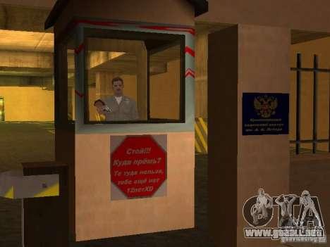 Cuerpo de cadetes de Krasnoyarsk para GTA San Andreas quinta pantalla