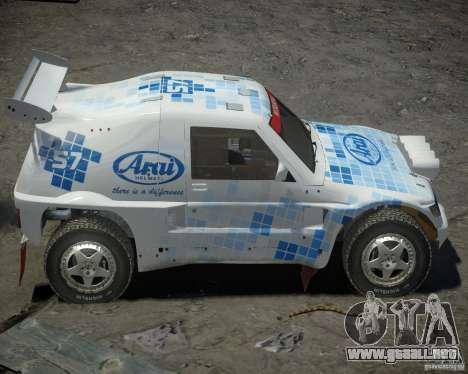 Mitsubishi Pajero Proto Dakar EK86 vinilo 3 para GTA 4 vista interior