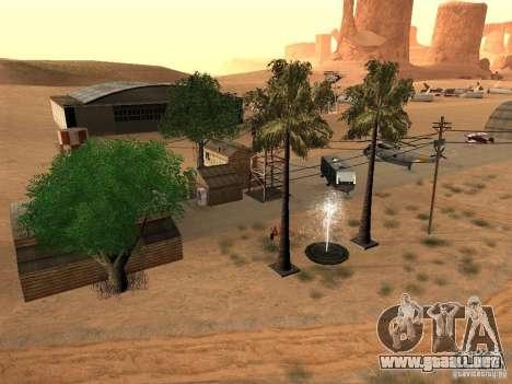 Nuevas instalaciones para el aeropuerto en el de para GTA San Andreas