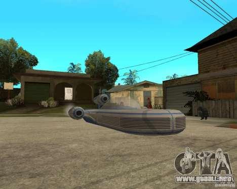 X34 Landspeeder para la visión correcta GTA San Andreas