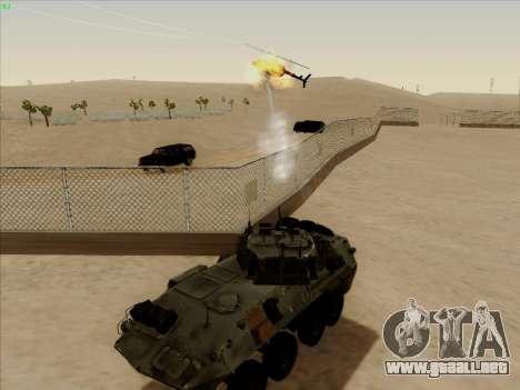 LAV-25 para visión interna GTA San Andreas