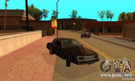 God car mod para GTA San Andreas tercera pantalla