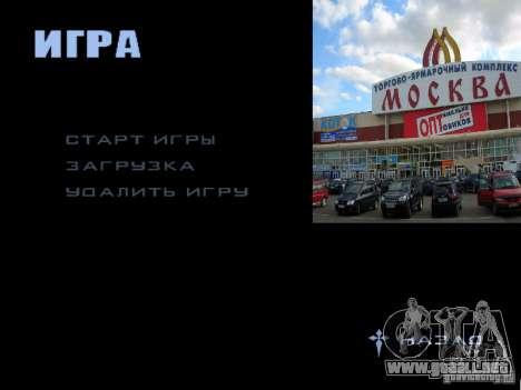 Pantalla de arranque de Moscú para GTA San Andreas undécima de pantalla
