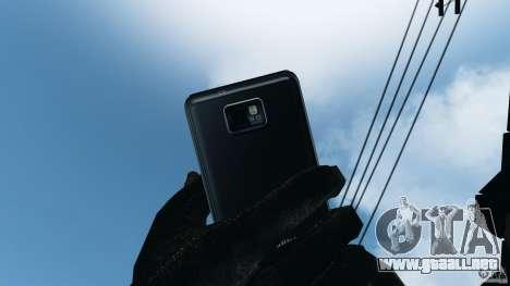Samsung Galaxy S2 para GTA 4 séptima pantalla