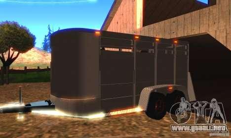 Trailer de la Chevrolet Silverado 2012 para GTA San Andreas