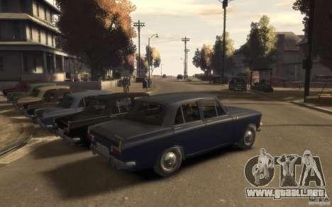 412 AZLK Moskvich para GTA 4 visión correcta