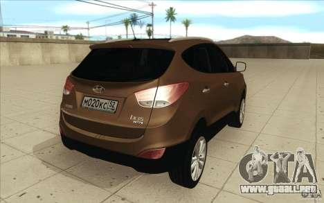 Hyundai ix35 para vista lateral GTA San Andreas