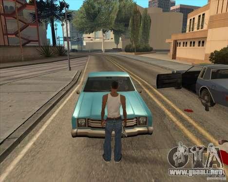 Controladores salgan del coche para GTA San Andreas