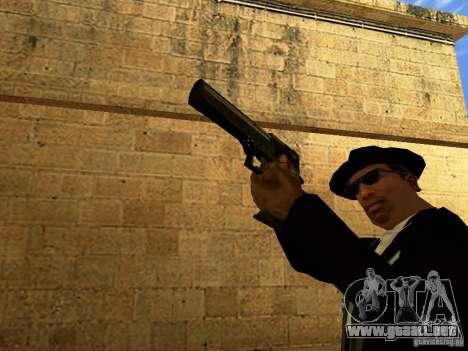 Desert Eagle MW3 para GTA San Andreas sexta pantalla