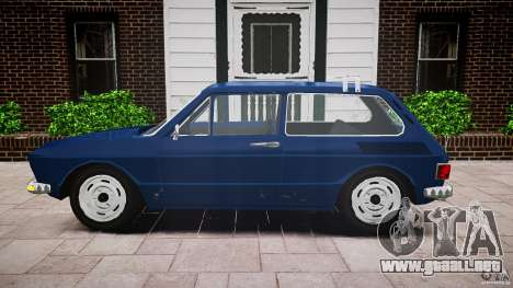 Volkswagen Brasilia para GTA 4 vista hacia atrás