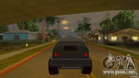 Gurkha LAPV para la visión correcta GTA San Andreas