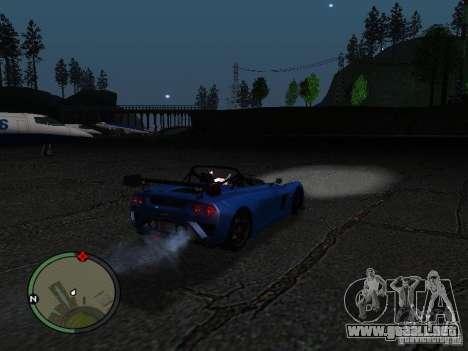 Lotus 2-Eleven 2009 para la visión correcta GTA San Andreas
