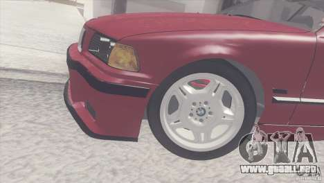 BMW e36 M3 Compact para la visión correcta GTA San Andreas