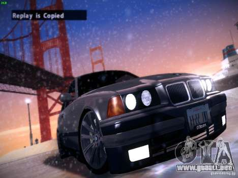 BMW M3 E36 320i Tunable para GTA San Andreas