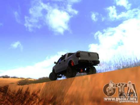 Ford F-150 Sargento Federal Edition para la visión correcta GTA San Andreas