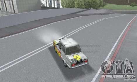 ZAZ 968 m andrajosos para GTA San Andreas vista hacia atrás