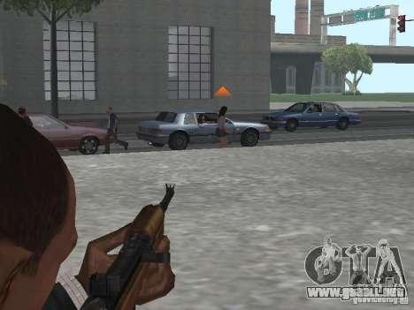M1A1 Carbine para GTA San Andreas quinta pantalla