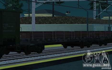 FERROCARRIL mod II para GTA San Andreas undécima de pantalla