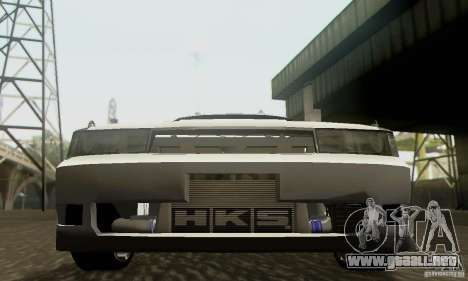 Toyota Cresta JZX90 para vista lateral GTA San Andreas