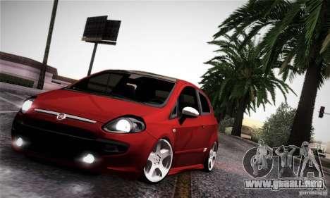 Fiat Punto Evo 2010 Edit para visión interna GTA San Andreas