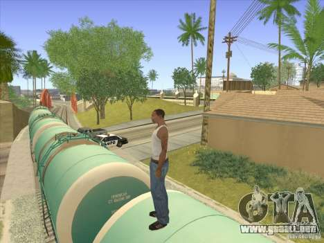 Tanque no. 517 94592 para visión interna GTA San Andreas