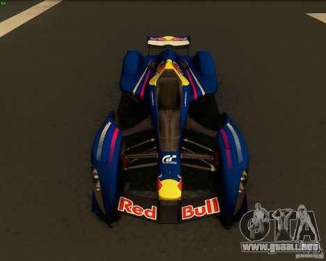 X2010 Red Bull para la visión correcta GTA San Andreas