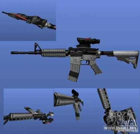 La M4a1 para GTA 4