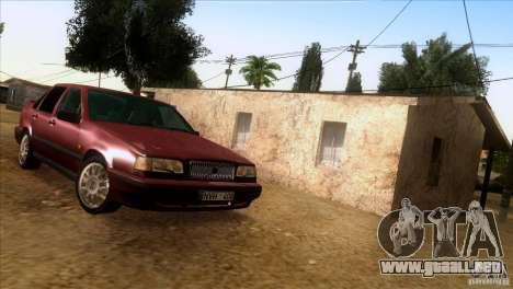 Volvo 850 Final Version para GTA San Andreas vista hacia atrás
