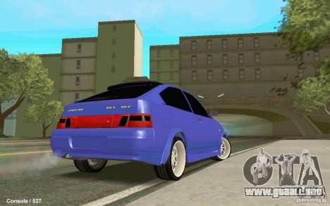Lada 2112 Coupe para GTA San Andreas left