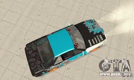 Nissan Silvia S13 NonGrata para GTA San Andreas vista posterior izquierda