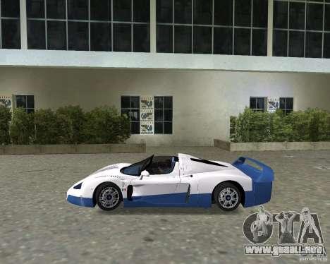 Maserati MC12 para GTA Vice City visión correcta