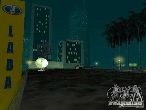 Nuevo showroom en San Fierro para GTA San Andreas octavo de pantalla