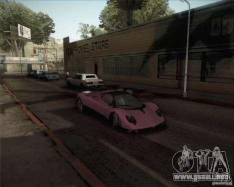 Pagani Zonda F V1.0 para GTA San Andreas