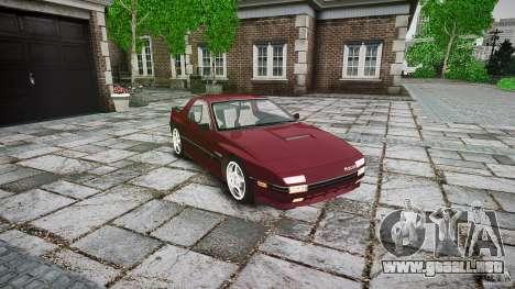 Mazda RX7 FC3S para GTA 4 visión correcta