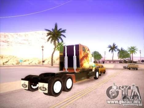 Mack Vision para GTA San Andreas vista posterior izquierda