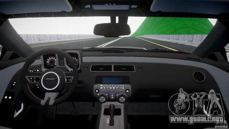 Chevrolet Camaro para GTA 4 visión correcta