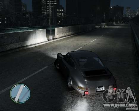 Porsche Carrera RS 1973 para GTA 4 left