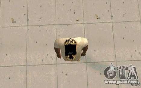 Jaguar Cap para GTA San Andreas tercera pantalla