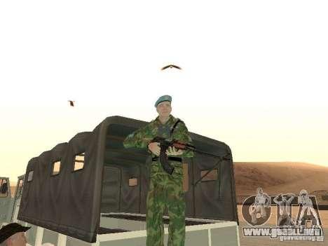 EL PKK para GTA San Andreas sucesivamente de pantalla