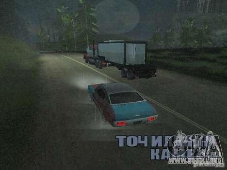 Vehículos con remolques para GTA San Andreas tercera pantalla