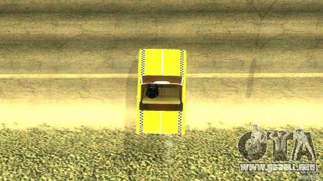 Crazy Taxi - B.D.Joe para GTA San Andreas vista posterior izquierda