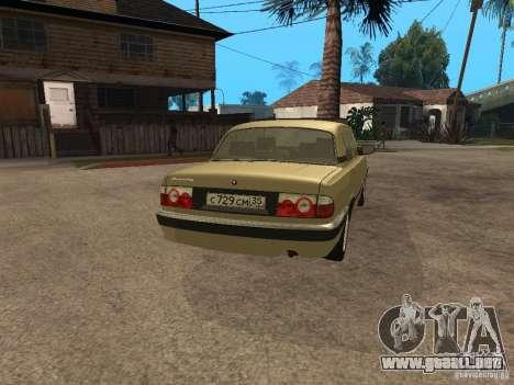 GAZ 3110 para GTA San Andreas left